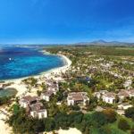 Vista Aérea de Long Beach Sun Resort, Mauricio