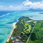 Vista aérea de Dinarobin Beachcomber, Mauricio