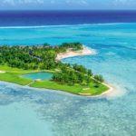 Vista aérea de Paradis Beachcomber, Mauricio