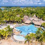 Vista aérea de Sandrani Beachcomber, Mauricio