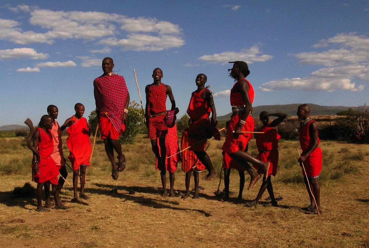 Tribu Maasai de Kenya