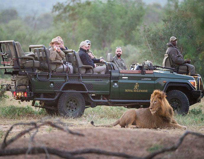 El Royal Malewane en Sudáfrica
