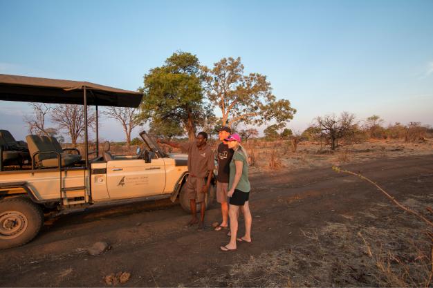Safari, actividades al aire libre y un lugar para descansar
